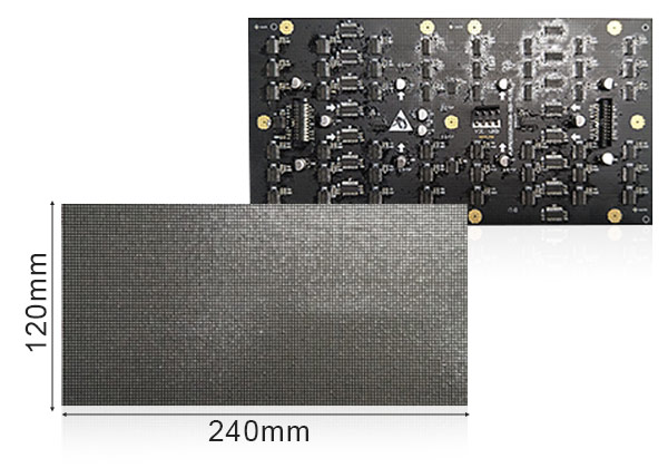 P1.875 Indoor Full Color led panel Module 240×120mm