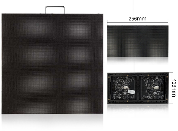 P4 P5 P6 Die casting indoor led display for fixed installation, rental use