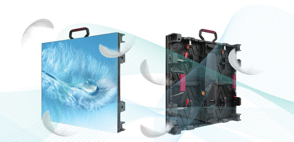 High quality P4.81 indoor rental led video display curved P4.81 DJ Shows/Event/Wedding,Die-casting