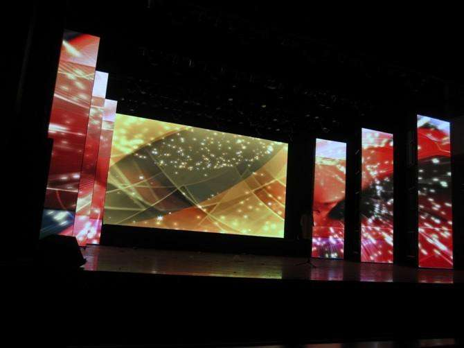 Outdoor P3.91 P4.81 P5.68 P5.95 P6.25 Indoor 500*1000mm stage led walls