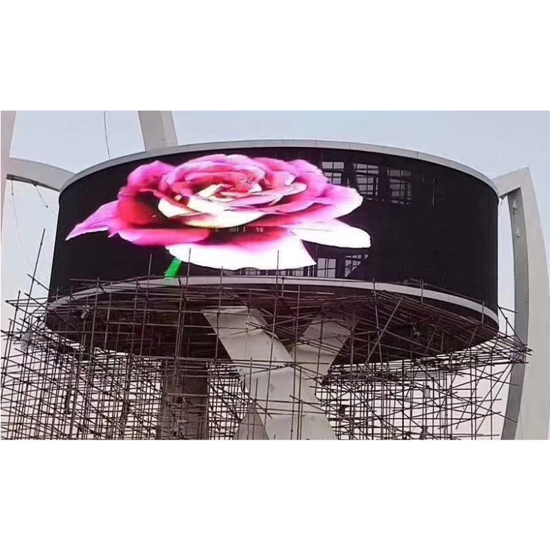 outdoor advertising curtain screen/transparent led display indoor screen