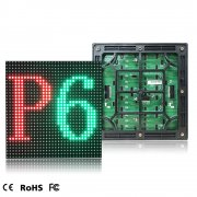 p6 outdoor LED display / building facade LED advertising display p6 led module