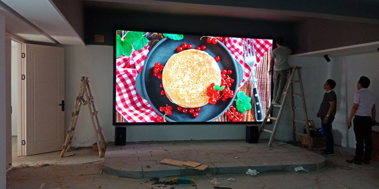 High Brightness RGB P2.5 Indoor Fixed LED Display Video Wall Panel For Stage Performance