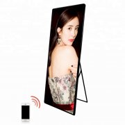 HD p2.5 p3 stand poster led screen/advertising poster display/commercial poster led screen