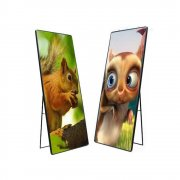 P1.953 500*1000 Poster display digital signage cabinet screen aluminum wall cabinet led wall