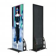 P2.5 indoor poster advertising board screen size 480x1920mm Standing led display
