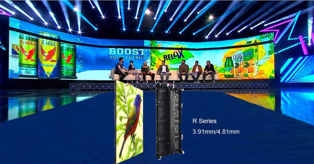 hd video wall p3 indoor rental nightclub screen p3.91 smd2121 panel led display for nova