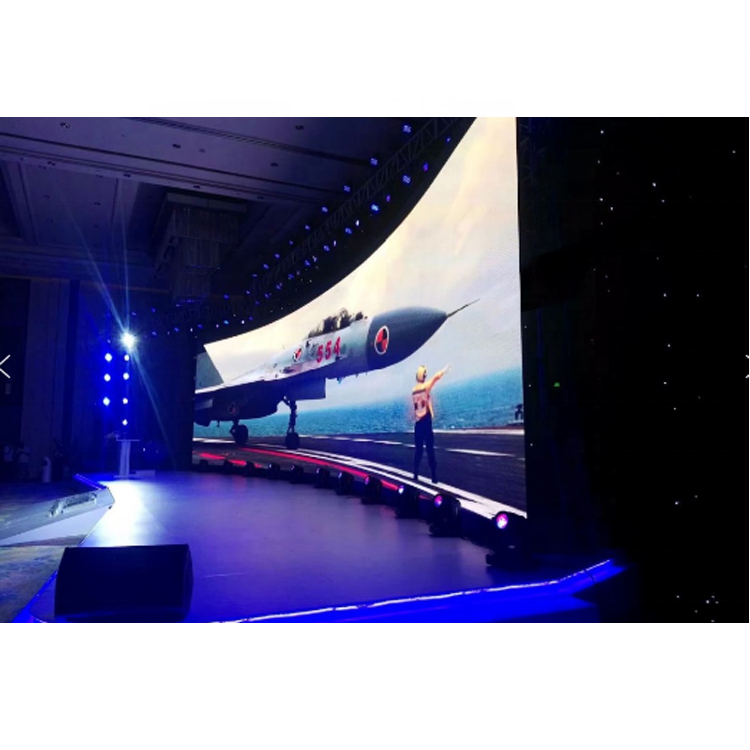 Wide Visual Angle 140 Degree Brightness Adjustable P3 Rent LED Display for Stage Background