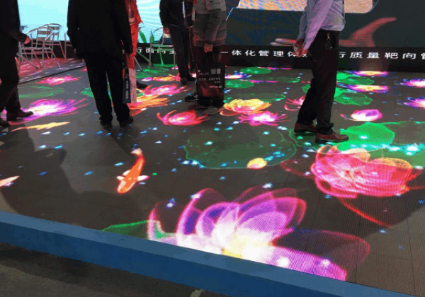 Commercial stage dance floor outdoor p5.95 led display for rental