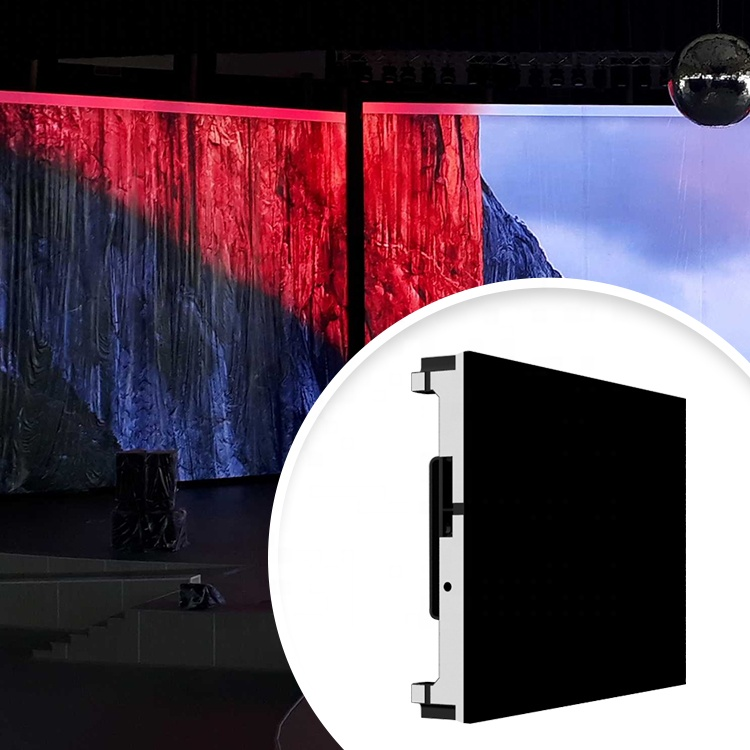 RGB 3 in 1 Customized Size Screen Dimension P1.6 indoor rental HD Digital Billboard