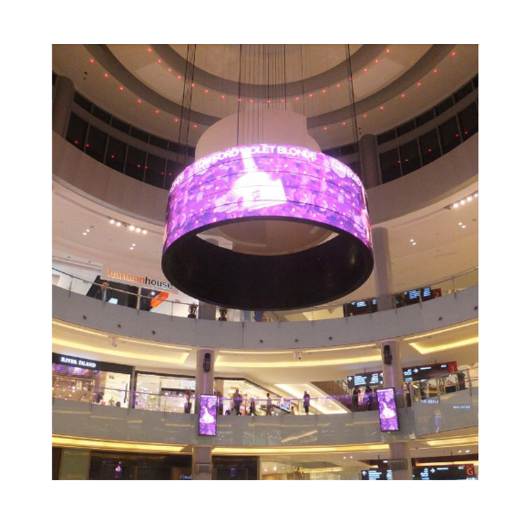 hd Panel LED Advertising Billboard indoor P10 P8 P6 P5 P4 Hot Sale Board Full Color Led Ring screen